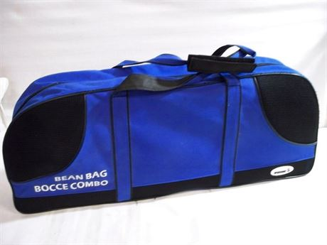SPORTSCRAFT BEAN BAG/BOCCE COMBO WITH BAG