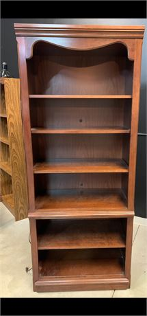 Wood Bookcase