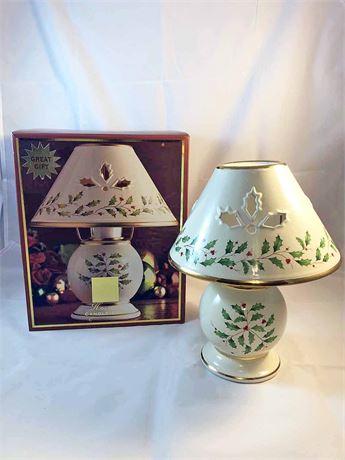 Lenox Holiday Candle Lamp