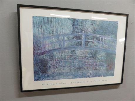 "CLAUDE MONET ""The Water Lily Pond"" Print"