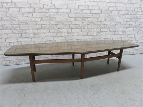 Vintage Mid-Century Hexagonal Coffee Table