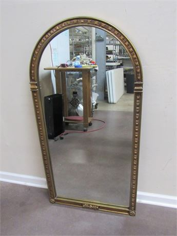 NICE GOLD FINISHED MIRROR