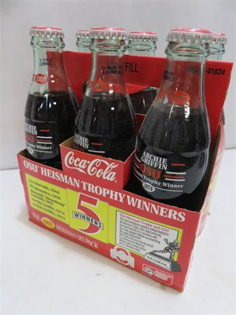 1995 Coca-Cola Heisman Trophy Six Pack