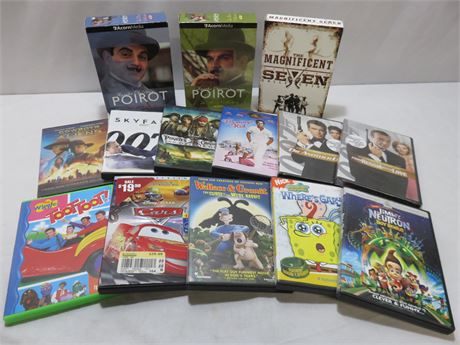 20-Piece DVD Lot