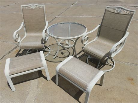 5-Piece Metal Patio Set