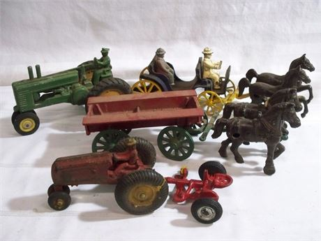 5 PIECE VINTAGE TOY LOT