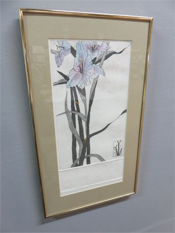 """DAWN MARIE """"A Summer Gift"""" Limited Edition Watercolor Print"""
