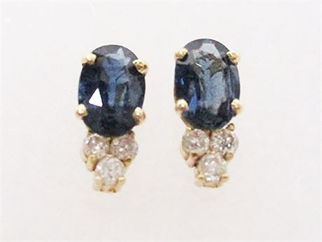 EXCELLENT 14K GOLD EARRINGS