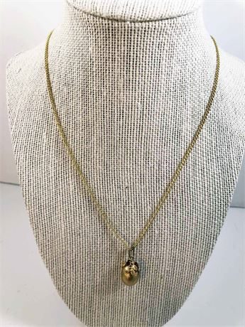 Swan Egg Necklace