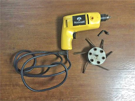 Rockwell Electric Drill