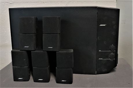 Bose Acoustimass® 15 home theater speaker system