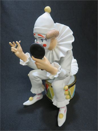 "ROYAL DOULTON Limited Edition Carnival of Clowns ""Final Touches"" Figurine"