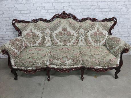 Vintage Louis XV Style Sofa