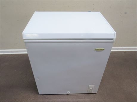 SMALL HOLIDAY CHEST STYLE FREEZER