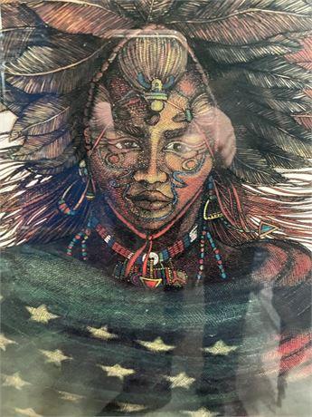 American Indian Print