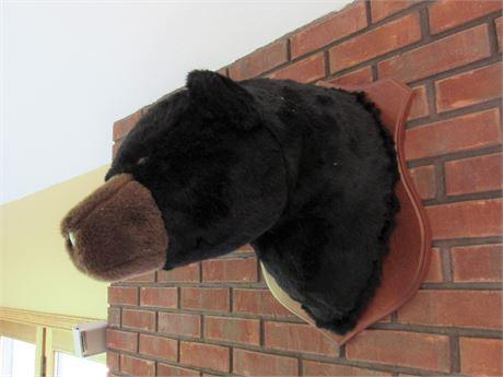 Faux Bear Mount - Peta Approved...