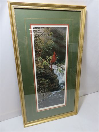 RICK KELLEY Limited Edition Willow River Refuge (Male) Lithograph