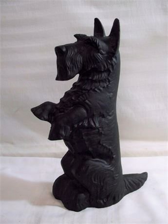 SCOTTIE DOG CAST IRON DOOR STOP