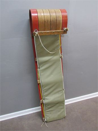Vintage Toboggan with Pad