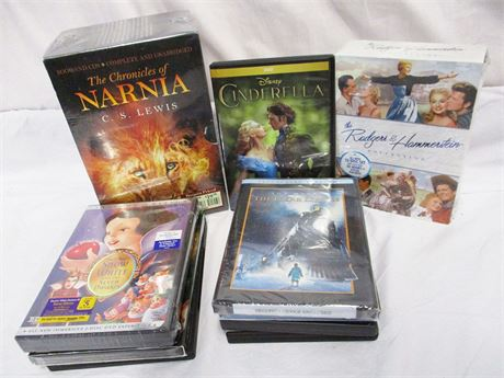 LOT OF KIDS/FAMILY DVDS