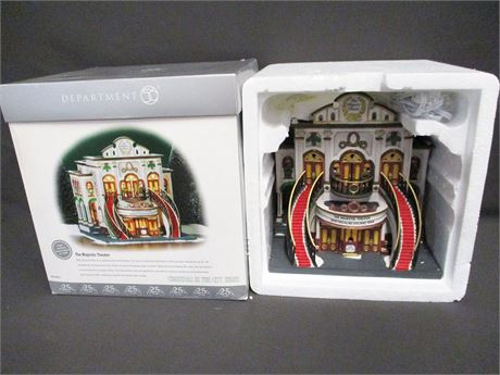 "DEPT. 56 - ""THE MAJESTIC THEATER"" (#58913)"