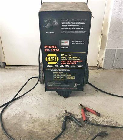 Napa Battery Charger & Starter