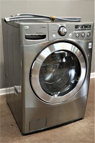 LG 3.5 cu.ft. Large Capacity Front Load Washer with TrueSteam Technology