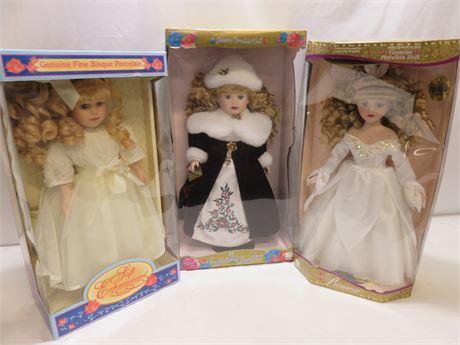 Porcelain Doll Lot