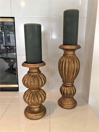 Z Gallerie Pillar Candles
