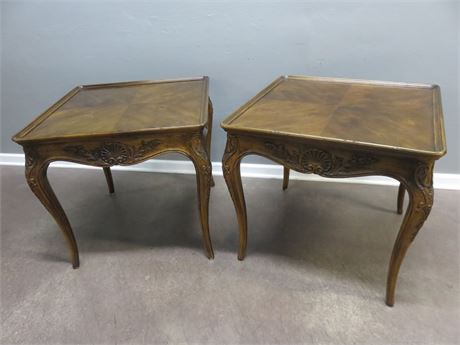 HENREDON Villandry French Provincial End Tables