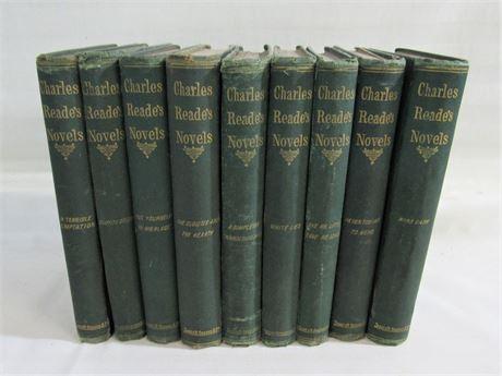 Charles Reade - 9 Volumes 1869-1875