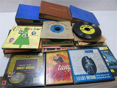 Vintage 45 rpm Record Lot