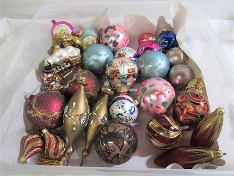 29 Vintage Look Christmas Tree Ornaments