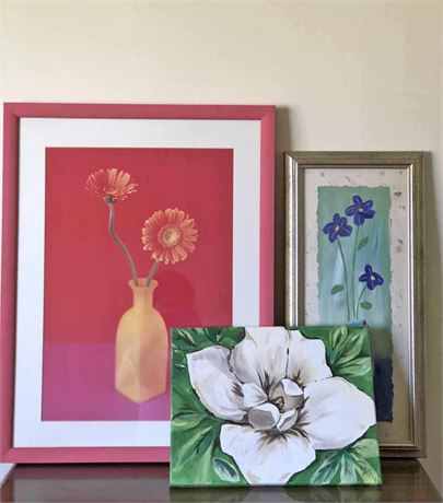 Floral Art Print Collection