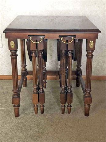 French Nesting Table