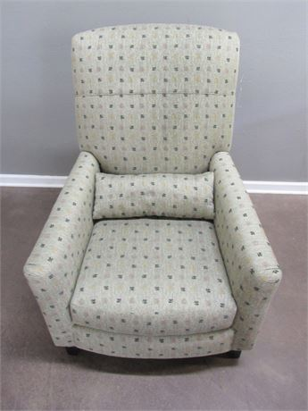 Nice Carter Upholstered Side Chair with Bolster/Pillow