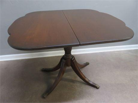 Vintage Mahogany Folding Game Table