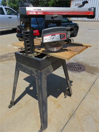SEARS Craftsman 10-inch Radial Saw