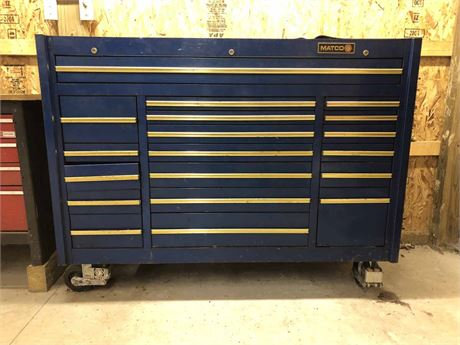 Matco Custom Work Station Tool Cabinet