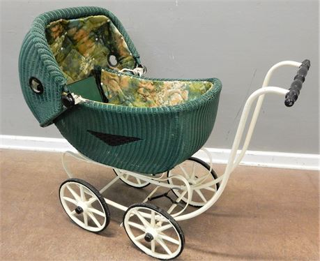 Vintage Authentic Green Carriage