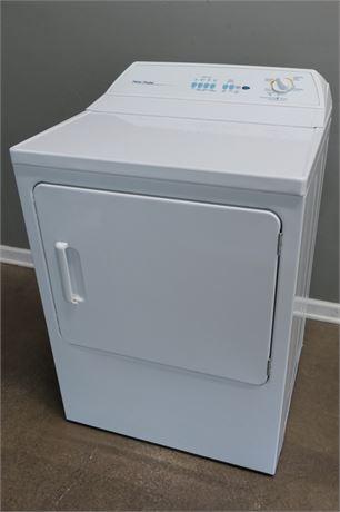 Fischer & Paykel Dryer with book