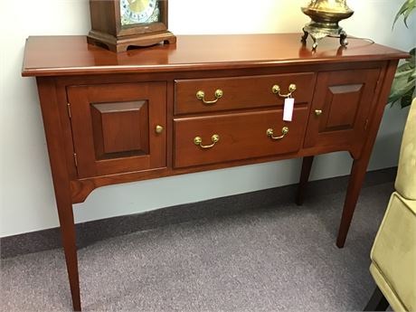 Seely Console Buffet Table Cherry