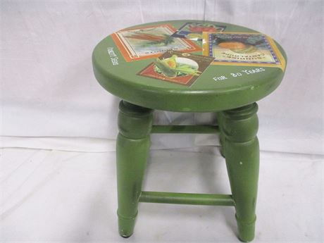 CHARMING DECORATIVE STOOL
