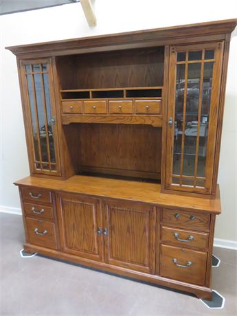 Home Office Computer Hutch