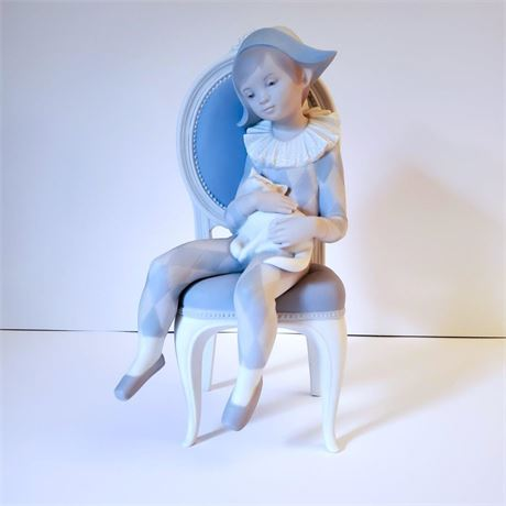 "Lladro Figurine ""Young Harlequin"" #1229"