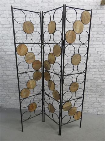 Funky Mid-Century Style Room Divider