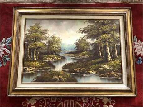 Alfred Williams Parsons Oil Painting
