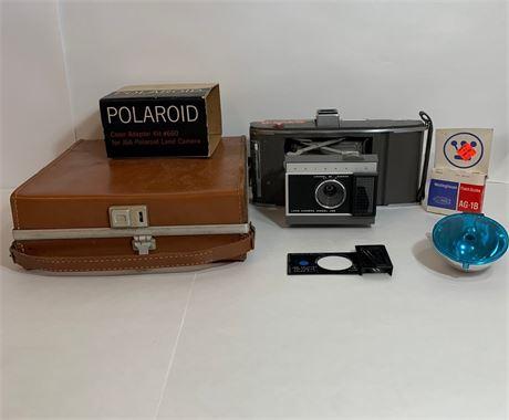 Vintage Polaroid Camera Set