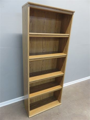 BUSH 5-Shelf Bookcase