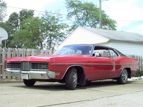 1970 FORD GALAXIE XL - LOW MILES